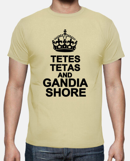 Camisetas Tetes tetas and Gandia Shore (Corona Grande)- Chico