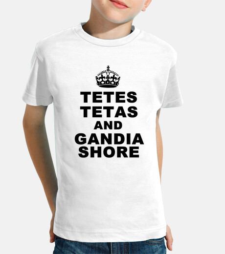 Camiseta Tetes Tetas and Gandia Shore - Infantil