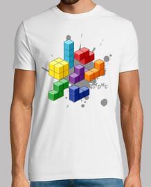 Tetris Retropixel White