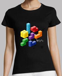 Tetris Retropixel Woman