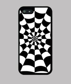 Textura con colores negros y blancos