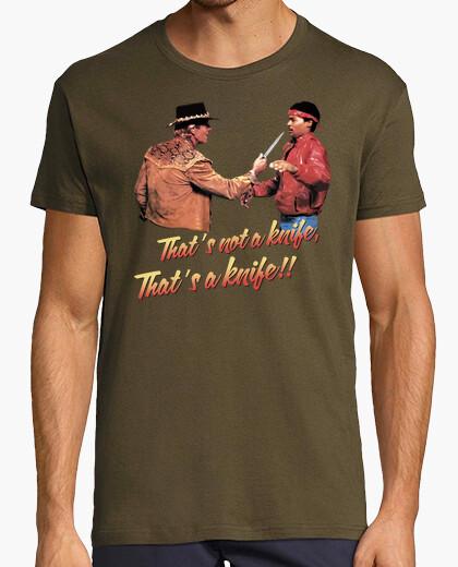 2ff50bbac3cd That's a Knife!! (Crocodile Dundee) T-shirt - 753002 | Tostadora.com