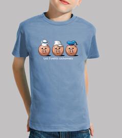the 3 little piglets