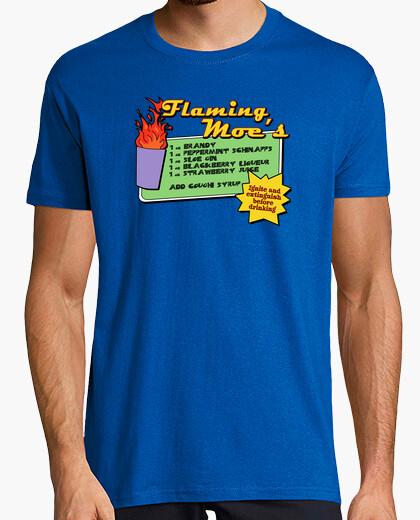 Camiseta The : Flaming Moe´s