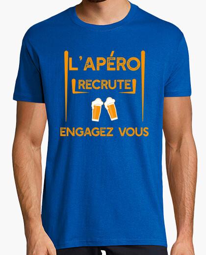 The aperitif recruits t-shirt