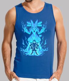 the aura inside - camiseta de tirantes hombre