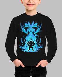 the aura within - kids long sleeve