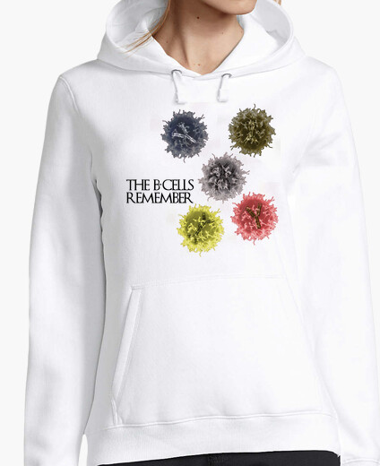 The b-cells remember clear hoody