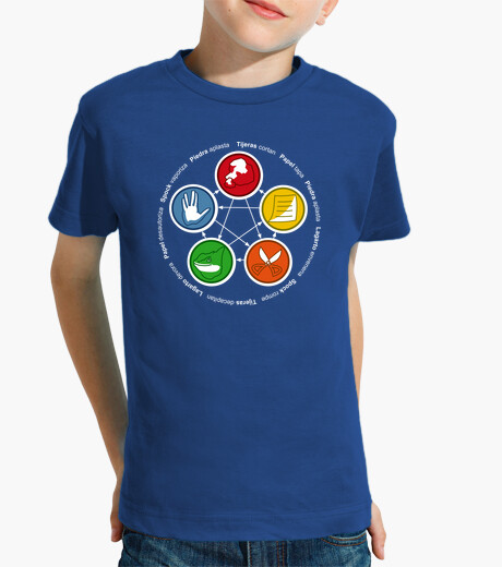 Ropa infantil The Big Bang Theory: Rock, Paper, Scisso