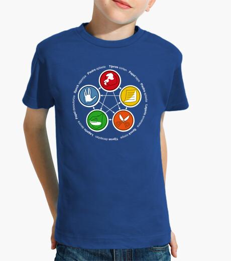 Abbigliamento bambino The big Bang Theory: sasso, carta, forbice