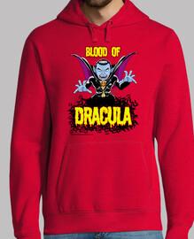 The blood of Dracula - Hombre Sudadera