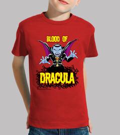 The blood of Dracula - Niño Manga Corta