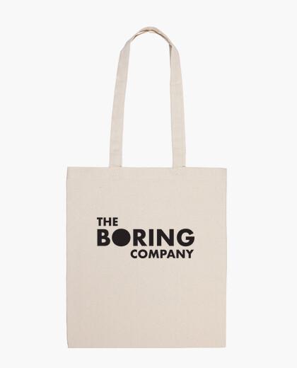 The Boring Company Bolsa tela 100% algodón