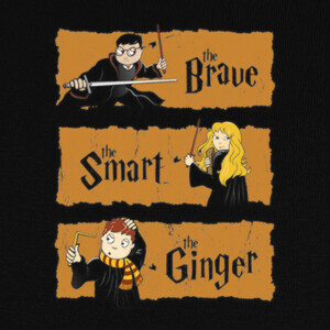 Camisetas The Brave, the Smart and the Ginger