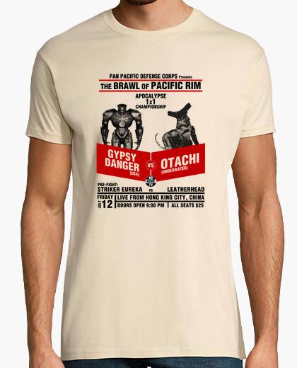 Camiseta The Brawl of Pacific Rim