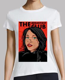 The Breakfast Club - Mujer, manga corta, blanca, calidad premium