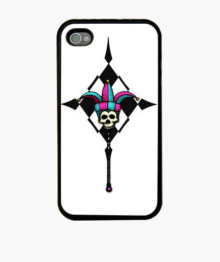 Funda iPhone The buffoon skull