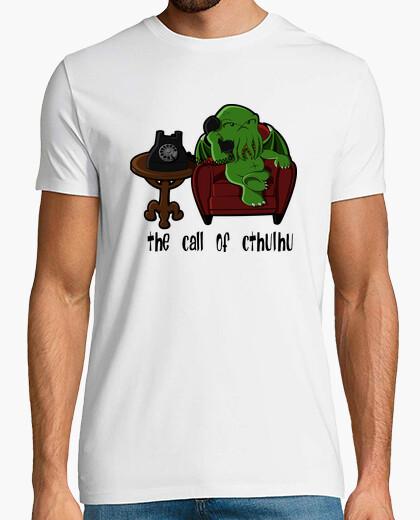 Camiseta The call of Cthulhu (para blanco)