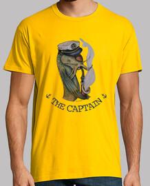 THE CAPTAIN - camiseta chico-amarilla