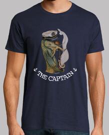 THE CAPTAIN - camiseta chico-gris oscuro