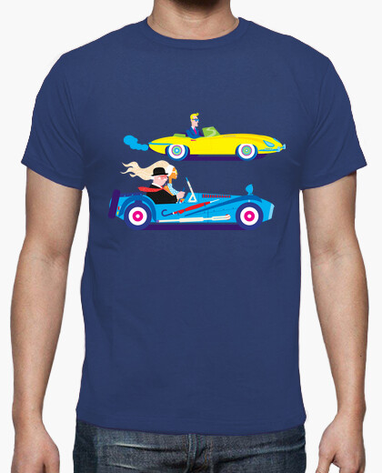 The car race t-shirt
