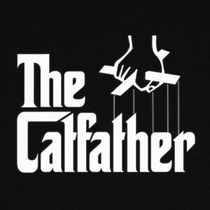 Camisetas THE CATFATHER , EL PADRINO
