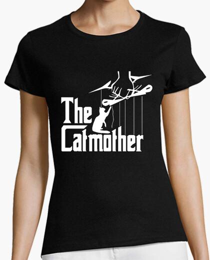 Camiseta The Catmother. Gatos y Mafia