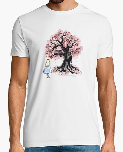 Camiseta The Cheshire's Tree sumi-e
