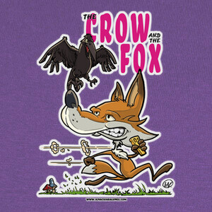 Camisetas THE CROW AND THE FOX