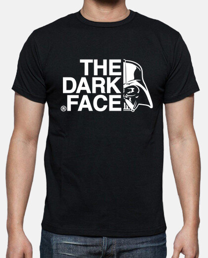 The dark face