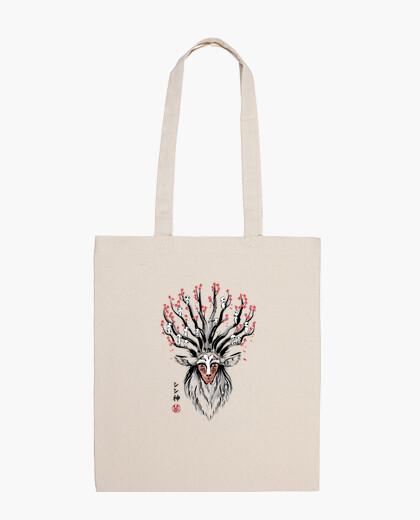 Bolsa The Deer God sumi-e