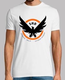 The Division SHD Black Logo (Personalizable)