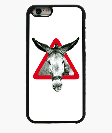 The donkey is stubborn donkey iphone 6 case