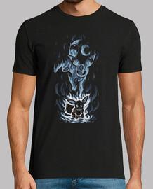 the eeveelution inside - camisa para hombre
