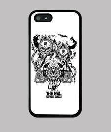 The Evil Strike Back! iPhone 5/5s Case