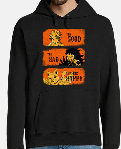 The Good, the Bad and the Happy para sudaderas