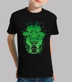 The Grass Saur Within - Kids shirt