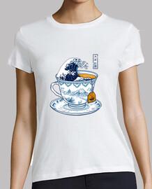 the great kanagawa tee shirt womens