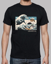 the great wave of spirits shirt mens