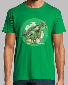 The green dragon / El dragón verde