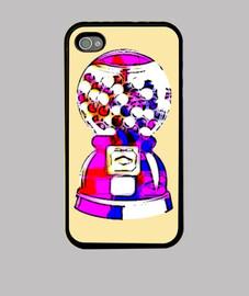 The Gum Machine, Funda iPhone 4, crema