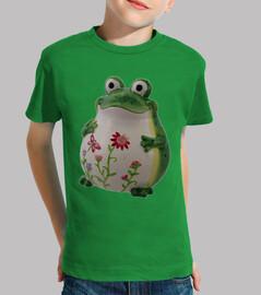 The happy frog / La rana feliz