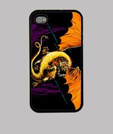 The hobbit adventure - Funda iPhone 4, negra