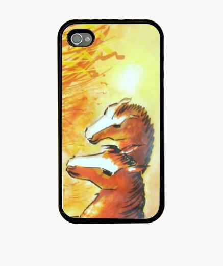 Funda iPhone The horses