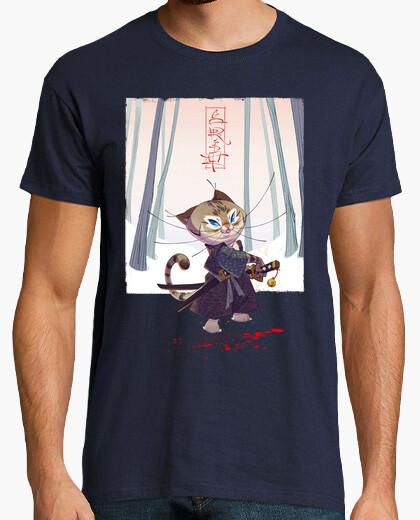Camiseta The Kawaii Samurai