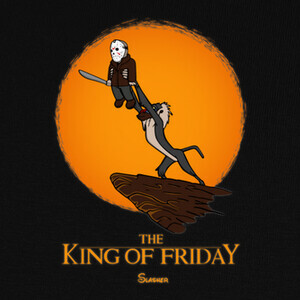 Tee-shirts The king of friday