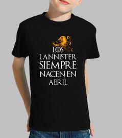 the lannister always in april children