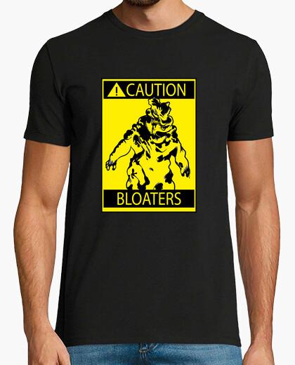 Camiseta The Last of Us - CAUTION BLOATERS