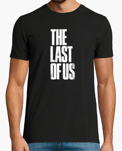 Camiseta The Last Of Us Logo Blanco (Personalizable)