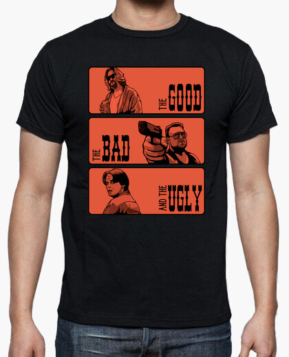 The lebowski, the bad and the ugly t-shirt